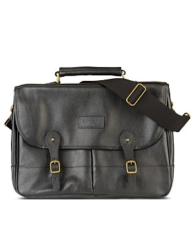 Barbour - Leather Briefcase