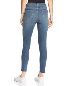 rag & bone/JEAN - High-Rise Distressed Ankle Skinny Jeans in Alec