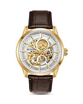 Bulova - Sutton Skeleton Watch, 43mm