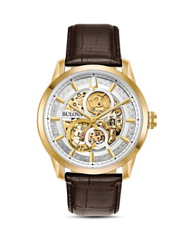 Bulova - Sutton Skeleton Watch, 43mm