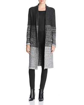 NIC and ZOE - Shadow Mix Textured Duster Cardigan
