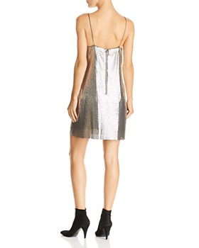 Alice and Olivia - Harmony Chain Mail Slip Dress