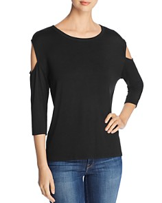Alison Andrews - Sleeve-Cutout Top