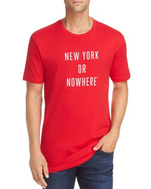 KNOWLITA Ny Or Nowhere Tee in Red/White