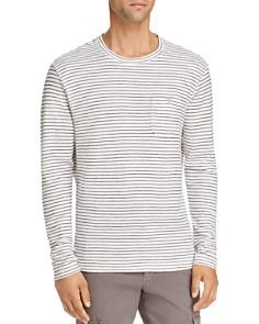 Michael Bastian Striped Knit Crewneck Shirt - Bloomingdale's_0