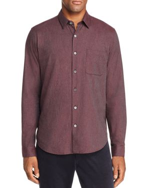 Theory Rammy Lightweight Flannel Regular Fit Shirt - 100% Exclusive