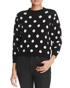Joie - Brettina B Polka-Dot Wool Sweater