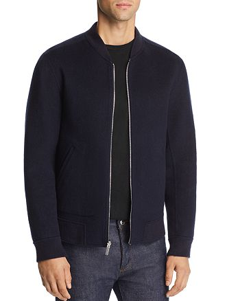 Theory - Jorge Tokyo Double-Faced Felted Cashmere Bomber Jacket