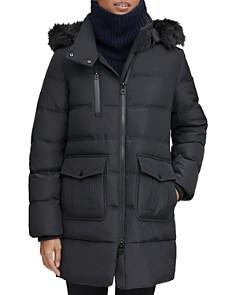 Marc New York - Astoria Faux Fur Trim Anorak