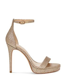 Imagine VINCE CAMUTO - Women's Preslyn Open Toe Leather Platform High-Heel Sandals