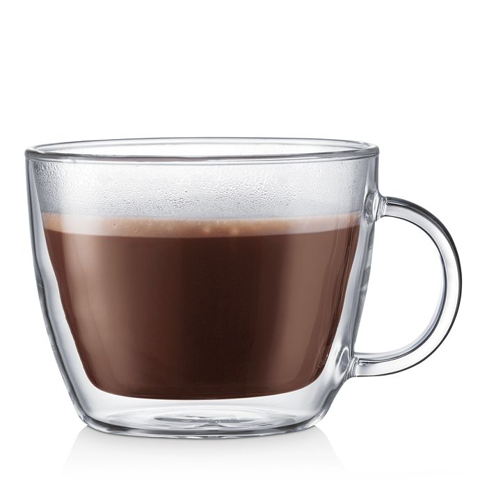 Bodum - Bistro Double-Wall Cafe Latte Cup, Set of 2
