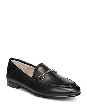 Sam Edelman - Women's Loraine Round Toe Leather Loafers