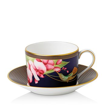 Wedgwood - Hummingbird Teacup & Saucer Set