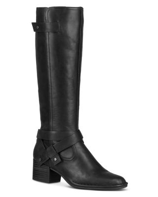 Women's Bandara Round Toe Leather Mid Heel Boots by Ugg®
