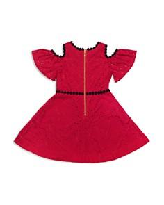 kate spade new york - Girls' Cold-Shoulder Lace Dress - Big Kid
