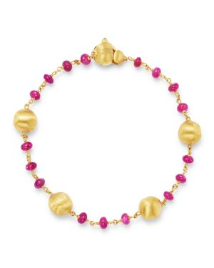 Marco Bicego 18K Yellow Gold Africa Precious Ruby Bracelet