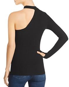 LNA - Ribbed One-Shoulder Top