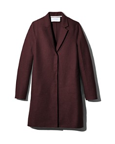 HARRIS WHARF - Virgin Wool Overcoat