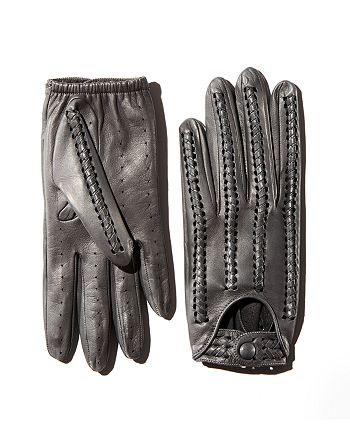 Portolano - Whipstitch Leather Driver Gloves