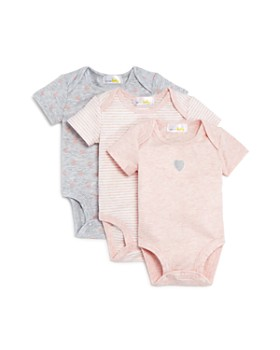 Bloomie's - Girls' Bodysuit, 3 Pack - Baby