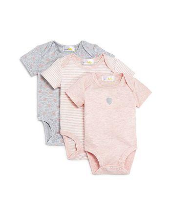 Bloomie's - Girls' Bodysuit, 3 Pack - Baby