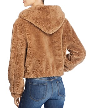 Bagatelle - Hooded Faux-Fur Jacket