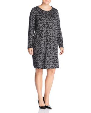 Estelle Plus Leopard-Print Shift Dress