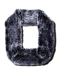Maximilian Furs - Rabbit Fur Infinity Scarf