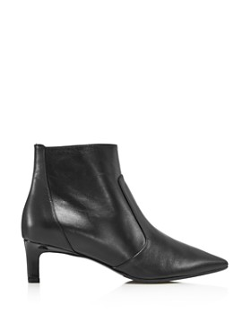 Aquatalia - Women's Marilisa Kitten Heel Leather Booties