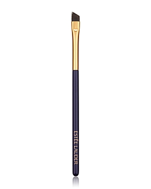 What It Is: A precision-angled brush to shape brows and line eyes. What It Does: Line and define with precision. This brush\\\'s angled tip makes applying brow powder and liquid or gel eyeliner a breeze. This brush can also be used to line eyes with powder eyeshadow. Designed with direction from top makeup artists around the globe. Manufactured and precision-trimmed with meticulous care. Wooden handles are short and lightweight, allowing for even, effortless application. How To Use It: Press brush