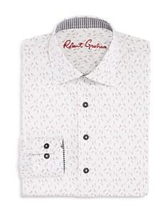 Robert Graham - Boys' Skeleton-Print Shirt - Big Kid