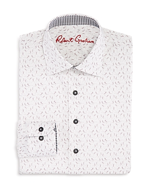 Robert Graham Boys SkeletonPrint Shirt  Big Kid