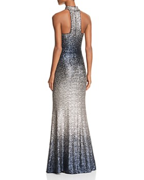 Avery G - Ombré Sequined Gown - 100% Exclusive