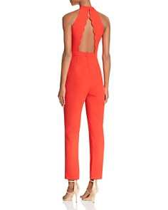 Adelyn Rae - Mock-Neck Jumpsuit