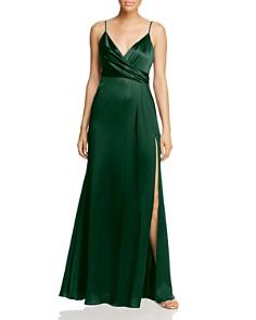 Jill Jill Stuart - Crossover Satin Gown