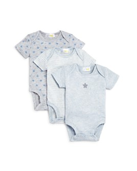 Bloomie's - Boys' Bodysuit, 3 Pack - Baby