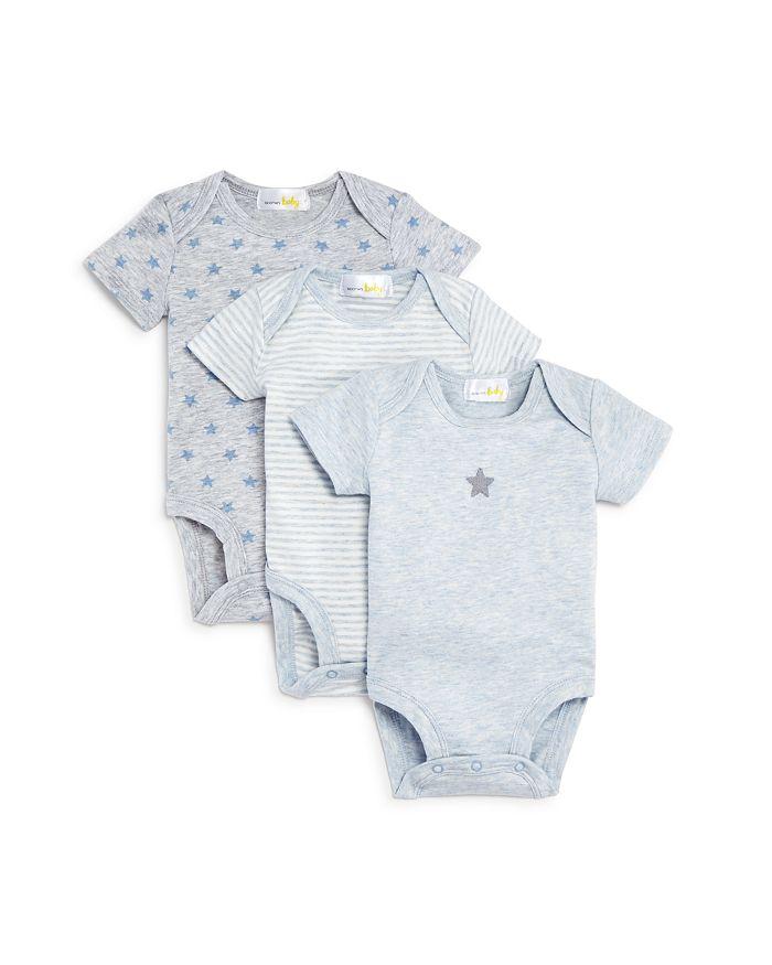 Bloomie's - Boys' Bodysuit, 3 Pack - Baby