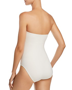 Carmen Marc Valvo - Bandeau One Piece Swimsuit