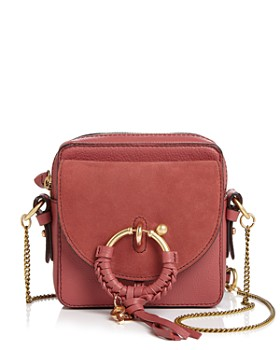 de546f2b1b See by Chloé - Joan Small Leather & Suede Crossbody ...