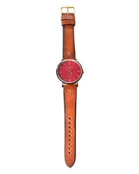 Throne - Fathom 1.0 Red Dial Watch, 40mm