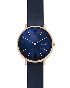 Skagen - Signatur Blue Mother-of-Pearl Watch, 36mm