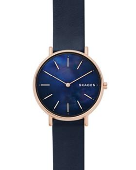 Skagen - Signatur Blue Mother-of-Pearl Watch, 36mm