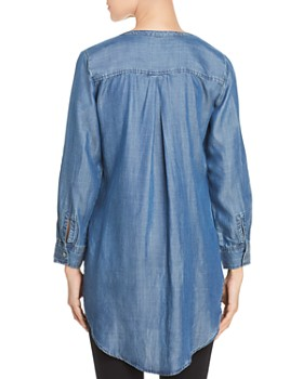 Liverpool - Chambray Button-Down Tunic