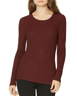 Kenzie Thermal Pullover, Scarlet