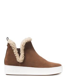 MICHAEL Michael Kors - Women's Ashlyn Suede High Top Sneakers