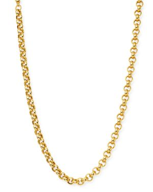 Bloomingdale's Chain Link Necklace in 14K Yellow Gold, 18 - 100% Exclusive