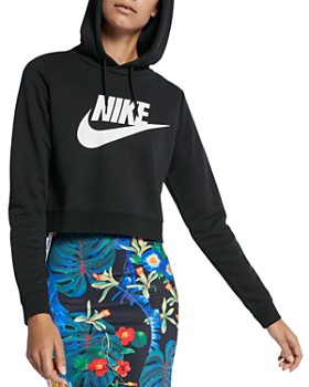 0fcd532d3497 Nike - Rally Cropped Hooded Sweatshirt ...