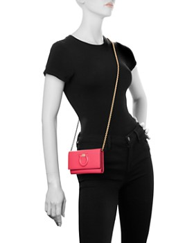 Salvatore Ferragamo - Gancini City Mini Leather Crossbody