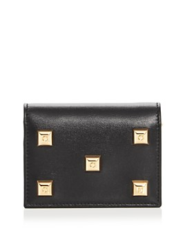Salvatore Ferragamo - Studio Studded Leather Wallet