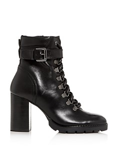 Kenneth Cole - Women's Santiago Block-Heel Booties